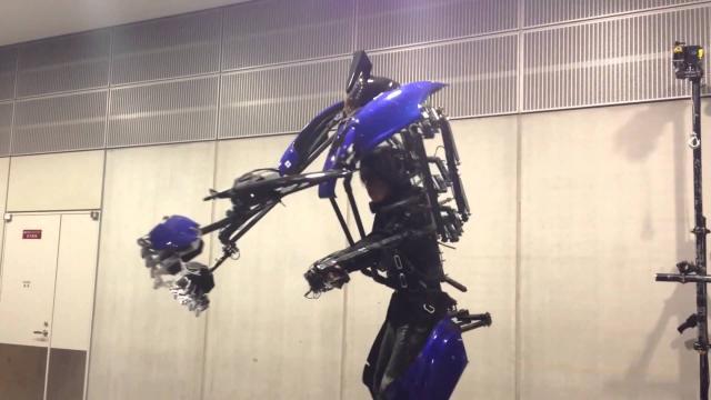 Japón ha desarrollado un nuevo traje robótico con un precio impresionante