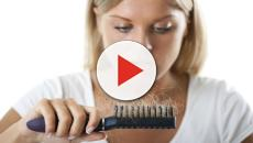 ¿Qué está causando la pérdida de cabello?