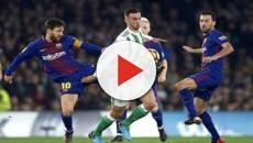 VIDEO: El sorprendente remplazo de Andrés Iniesta en el Barcelona