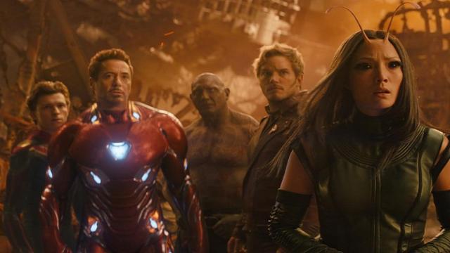 Infinity War supera a Jurassic World y es la mejor película de verano