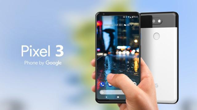 Google revela el diseño costoso del Pixel 3