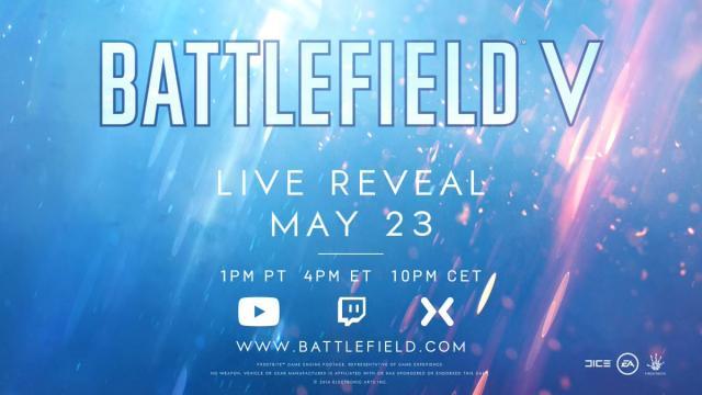 'Battlefield V' anunciado oficialmente por EA