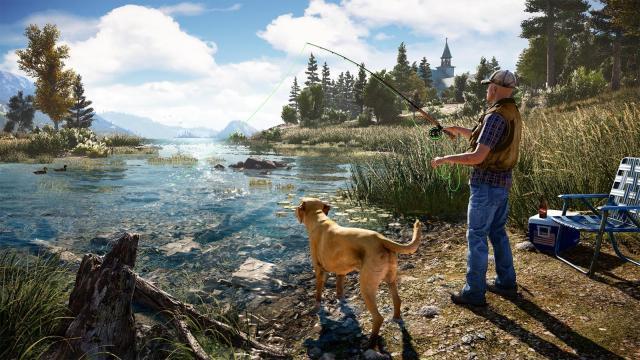'Far Cry 5': guía para lugares de pesca, cañas y tecnicas.