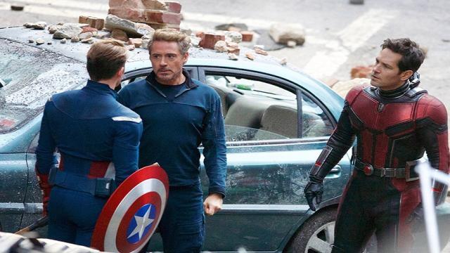'Avengers 4' fotos revelan posibles adelantos de la película