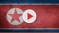 North Koreans receiving aid in floating bottles
