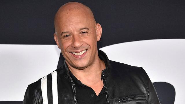 Vin Diesel hace que los músculos funcionen trabajando en una nueva franquicia