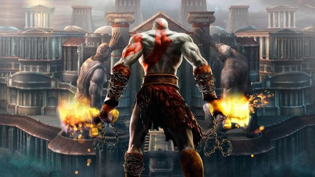 God of War domina las listas de juego del Reino Unido