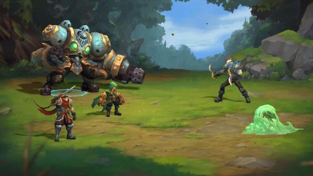 Lanzamientos de Battle Chasers: Nightwar en Nintendo Switch