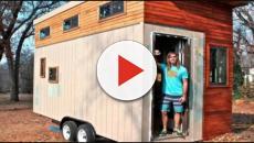 Estudante se cansa de aluguéis caros e constrói uma casa de 14m²