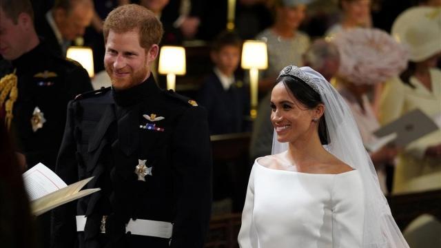 Detalles de la 'Boda Real' en Windsor