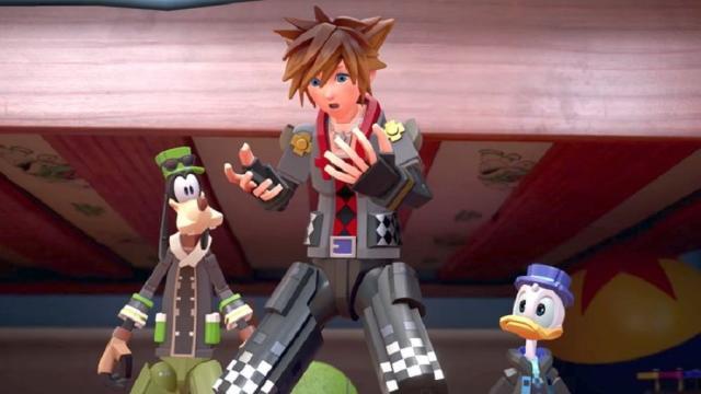 Juego de manos New Kingdom Hearts 3 revelado