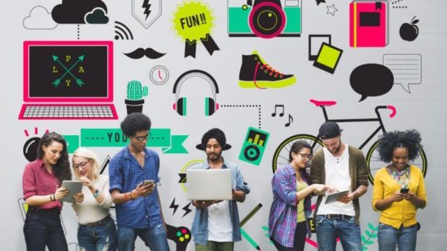 Generation Z ha crecido con las redes sociales