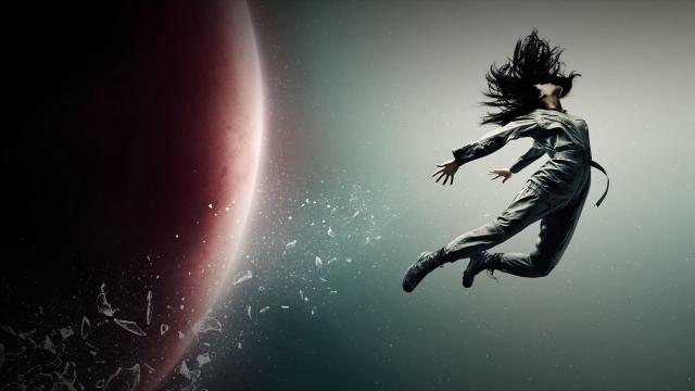 Fanáticos de 'The Expanse' vuelan una pancarta sobre Amazon Studios