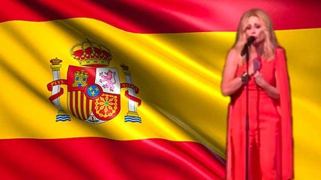 Marta Sánchez llora en un acto de Ciudadanos