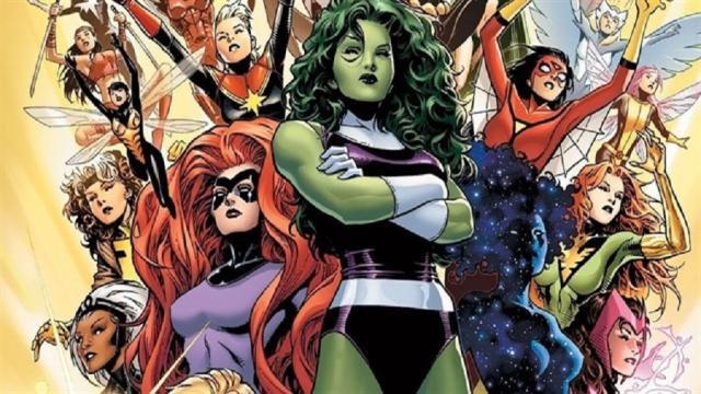 Las Chicas más famosas de Marvel