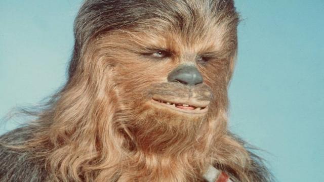 Chewbacca de Solo comparte una foto con el reparto de Lord Of The Rings