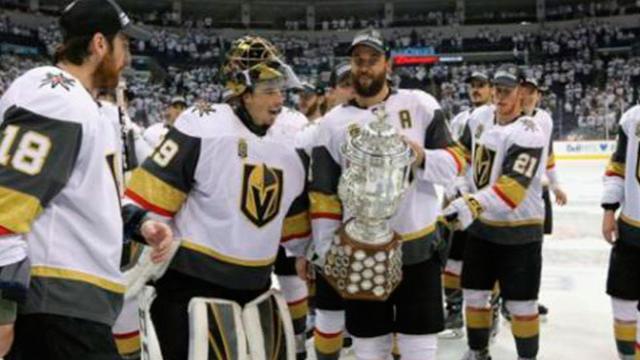 Golden Knights hacen historia al ganar el Oeste y llegar a la Stanley Cup Final