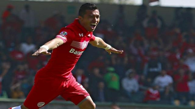 Fernando Uribe: Goleador vertiginoso del Toluca México