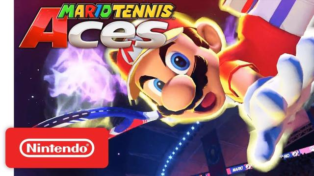 Obtén la versión beta de Mario TennisAces