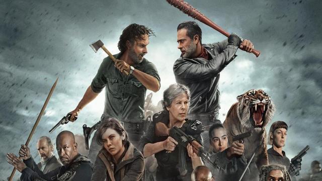 Esto es seguido por los spoilers para la temporada 8 de The Walking Dead