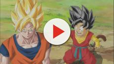 'Dragon Ball Heroes': SSJ4 Xeno Goku vs Super Saiyan