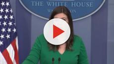 Sarah Sanders defends Donald Trump, attacks Democrats on Twitter