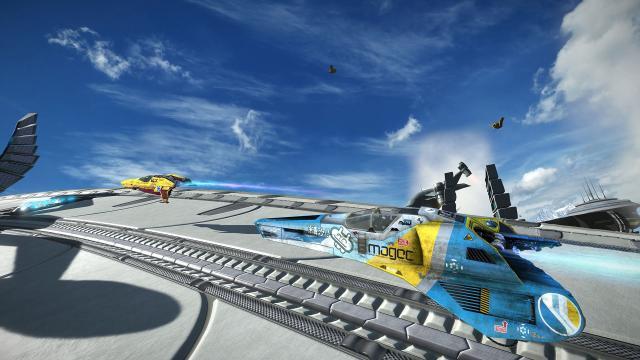 La demo de PS VR de 'Wipeout Omega Collection' se lanza en vivo