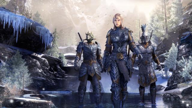 The Elder Scrolls Online: Summerset para PC, Actualización en progreso
