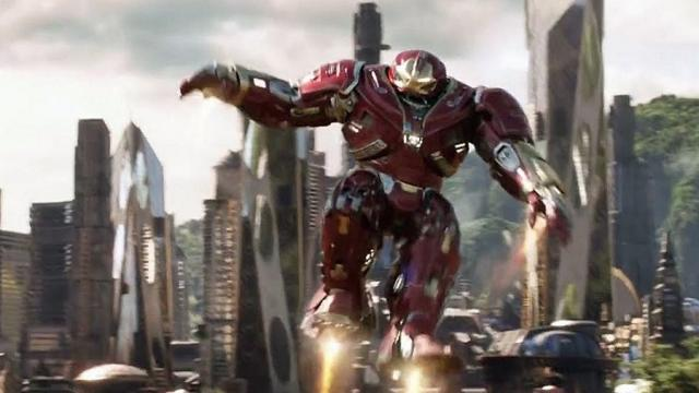 'Avengers Infinity War' la figura de Hulkbuster