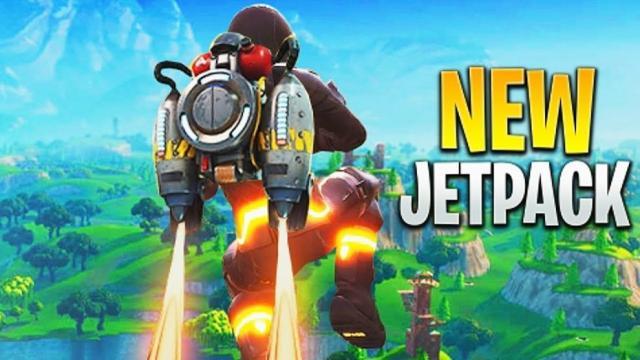 El juego Fortnite ahora tiene Jetpacks