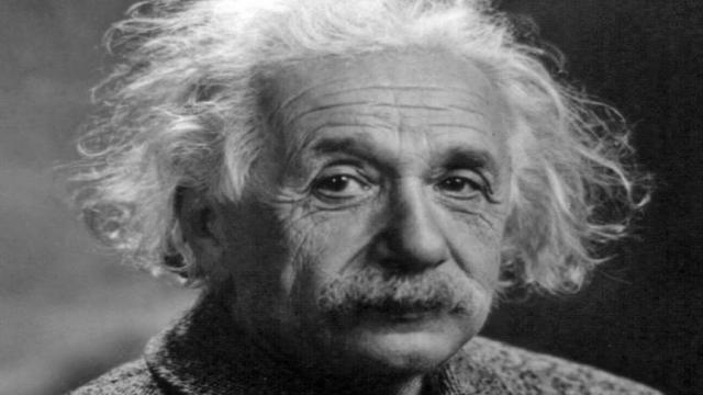 El Museo de Münster en Alemania muestra partes del cerebro de Einstein