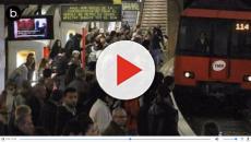 Demanda de una mujer al metro Barcelona