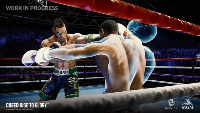 Creed: Rise to Glory, un divertido boxeador de realidad virtual