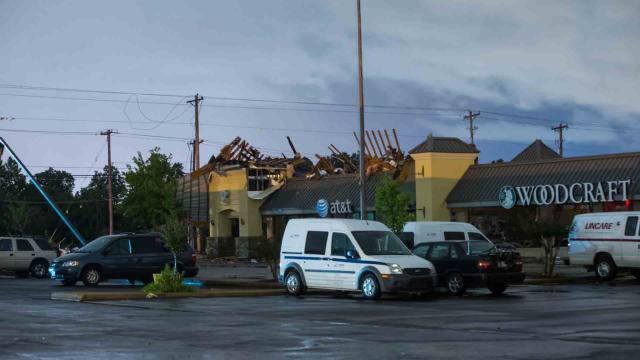 Mal tiempo en USA después de los tornados, las fuertes perturbaciones siguen