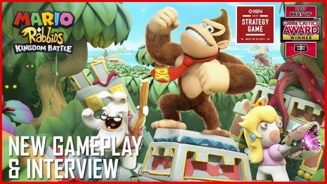 Nuevos detalles sobre Donkey Kong DLC para Mario + Rabbids: Kingdom Battle