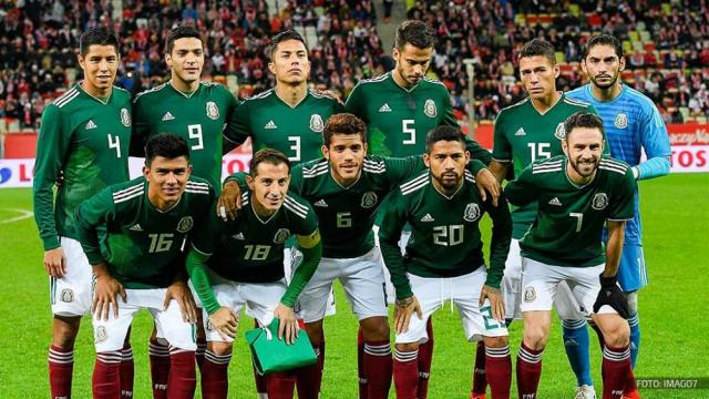 Jugadores que formarán el equipo mexicano en Rusia 2018
