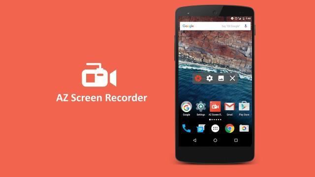 La mejor grabadora de pantalla Android para 2018