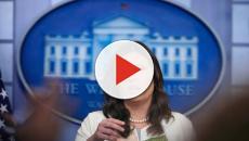 Sarah Sanders y 'War against Women' defienden a Trump, Twitter entra en erupción