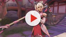Overwatch: El aspecto de Mercy rosa parece haber sido un éxito