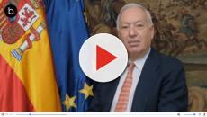 Pelea tremenda entre el ex ministro Margallo y una independentista
