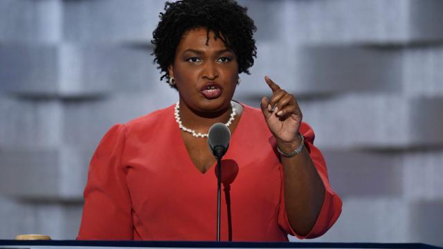Stacey Abrams es la primera mujer negra nominada para gobernador