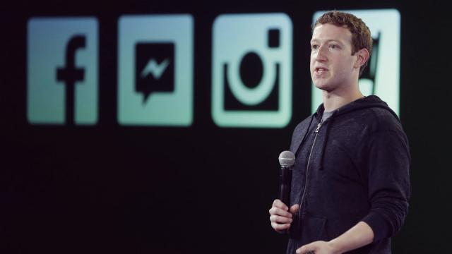 Emmanuel Macron recibe a Mark Zuckerberg en el Elíseo