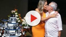 Nova esposa de Carlos Alberto publica vídeo depois do casamento, veja