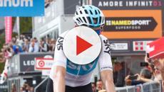 Chris Froome è già un mito del Giro d'Italia: tappa e maglia rosa a Bardonecchia