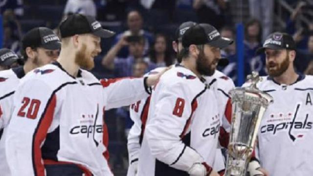 Caps ganan 4-0 el juego 7 en Tampa, para pasar a la final por la Stanley Cup