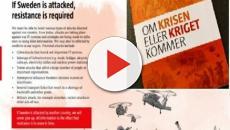 Svezia, pericolo guerra: un opuscolo prepara la popolazione, ecco come