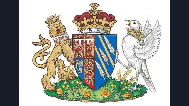Kensington Palace has revealed Meghan Markle's official coat of arms