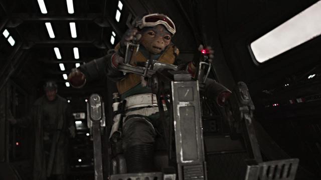 Un droide difiere de los demás en Star Wars
