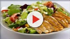 VIDEO :Ensalada de annapurna con pollo a la parrilla, deliciosa combinación