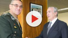 Forças Armadas agem e Villas Bôas recebe mensagens nas redes sociais, veja